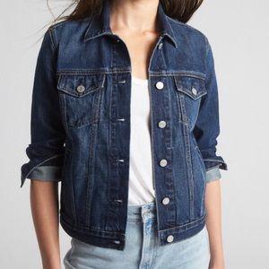 Gap jean denim jacket with stretch Size M